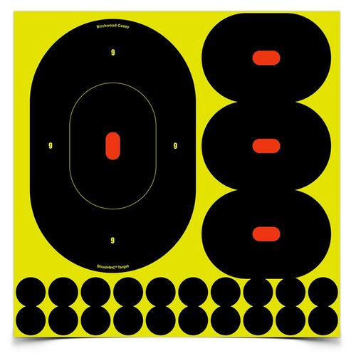 500x500 Outdoor World Sporting Goods Shoot N C Silhouette Targets, 9