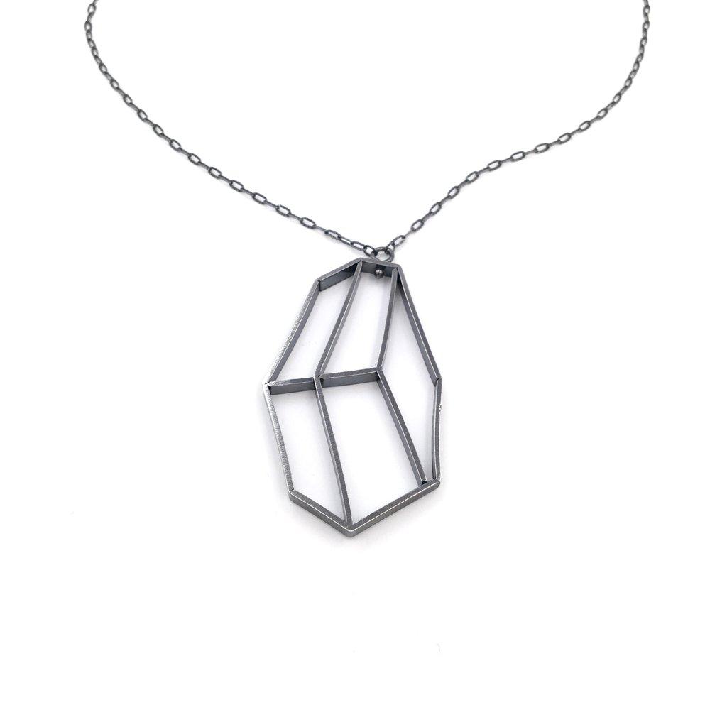 1024x1024 Geometric Silhouette Pendant Mora Designer Jewelry