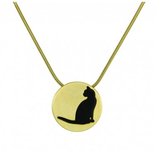 500x500 Bronze Round Cremation Pet Ashes Jewelry Keepsake