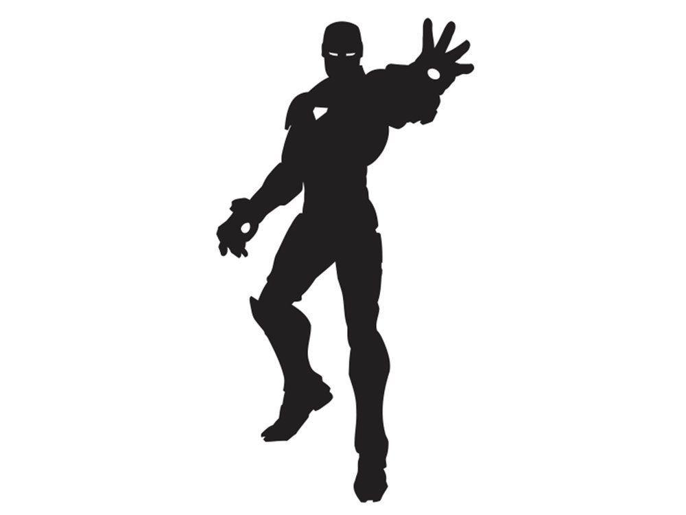 1000x750 Iron Man Silhouette Nerd. Silhouettes, Cricut