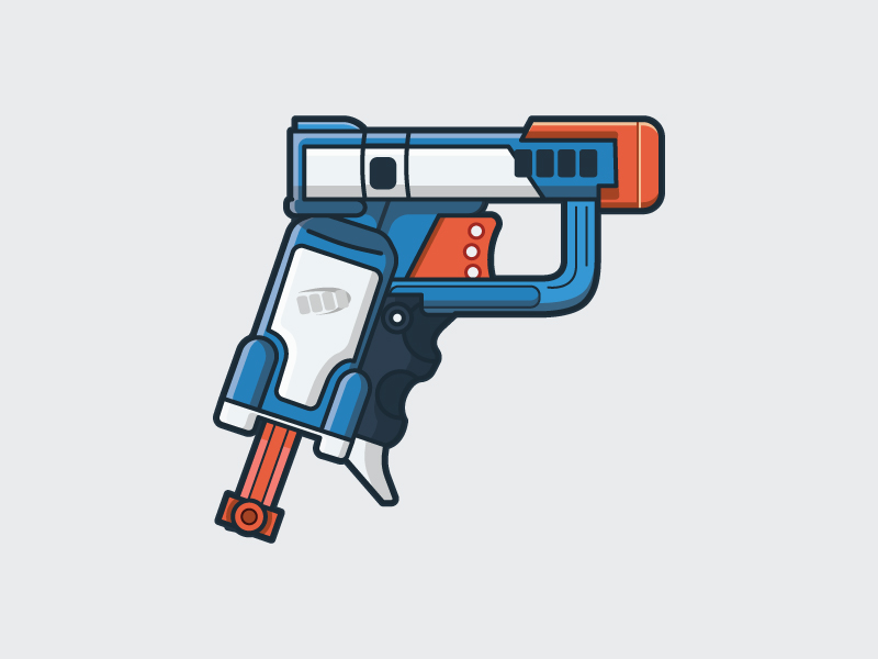 800x600 Nerf Gun Illustrations