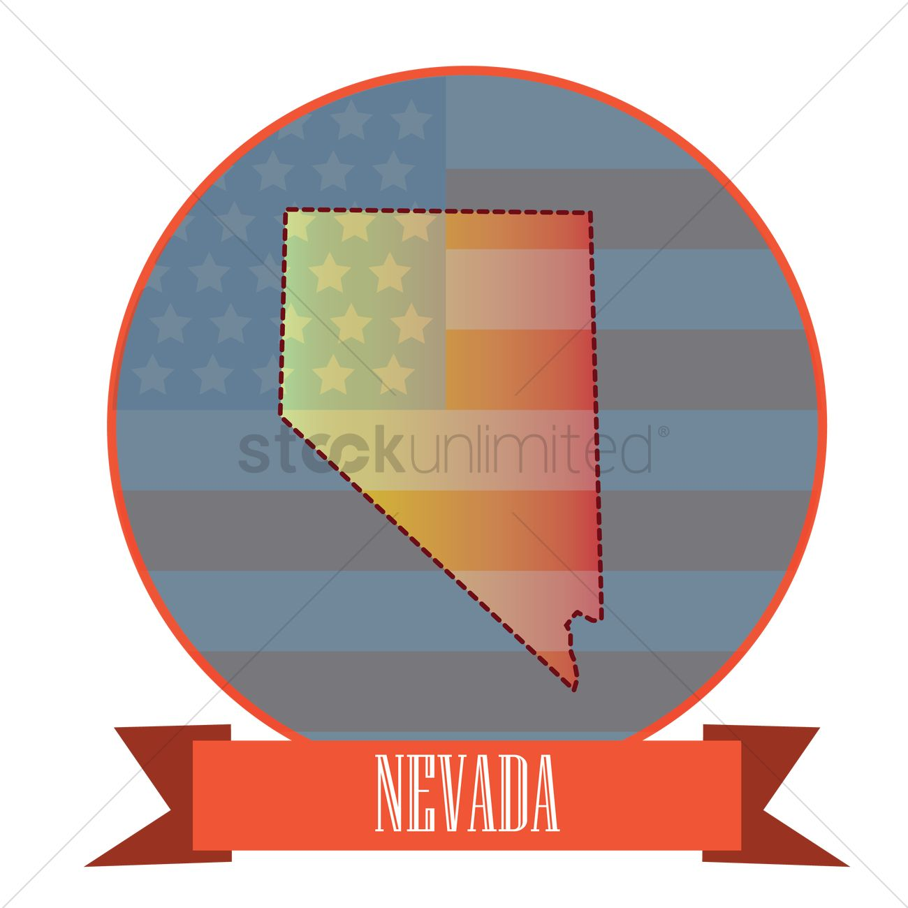 1300x1300 Nevada State Map. Nevada State Map Art Deco With Nevada State Map