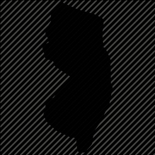 512x512 Map, New Jersey, New Jersey Map, New Jersey State, Nj Map Icon