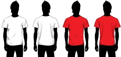 469x223 Vector T Shirt Free Vector Download (1,313 Free Vector)