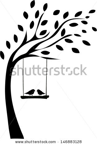 313x470 Two Birds Silhouette Clipart