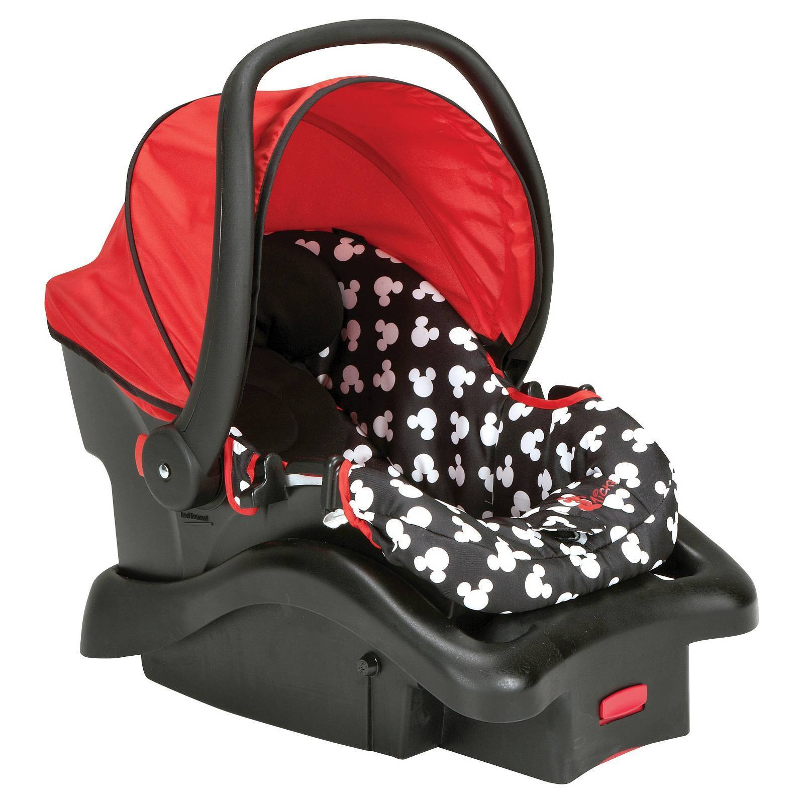 1600x1600 Disney Light N Comfy Luxe Infant Car Seat Mickey Silhouette New