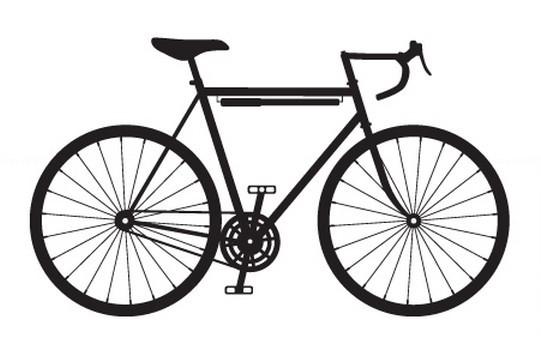 541x351 New Big Mountain Bike Wall Sticker Mountian Bike Cycling Contour