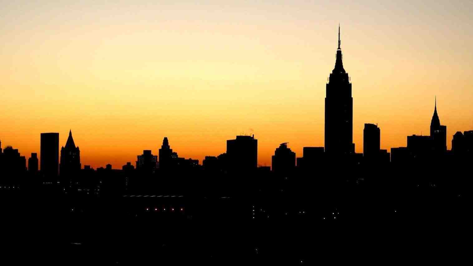 New York Building Silhouette at GetDrawings.com | Free for personal ...