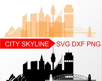 340x270 New York Svg New York City Vector Skyline New York City