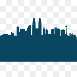 260x260 City Silhouette Png, Vectors, Psd, And Clipart For Free Download