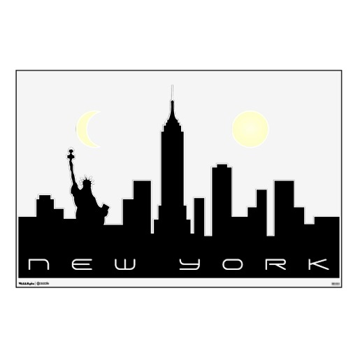 512x512 New York City Skyline Clip Art Amp Look At New York City Skyline