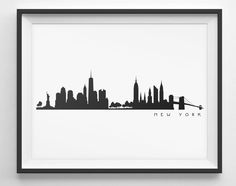 236x186 New York Skyline Silhouette Outline This Artwork Nyc Tattoo Idea