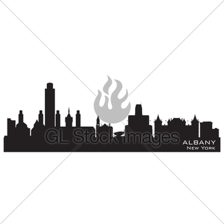 325x325 Tampa Florida City Skyline Vector Silhouette Gl Stock Images