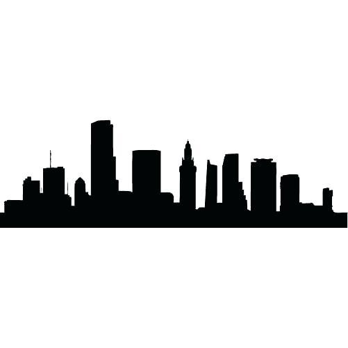 501x501 New York Skyline Silhouette