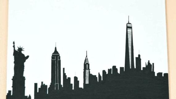 570x320 New York Skyline Silhouette