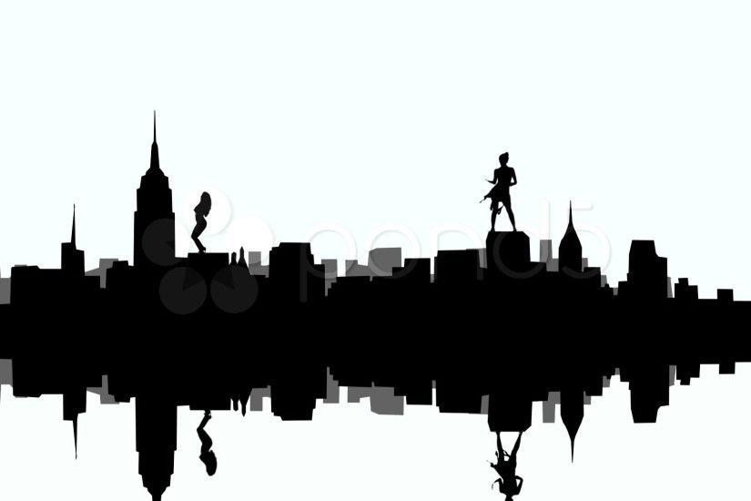 825x550 Philadelphia Skyline Wallpaper