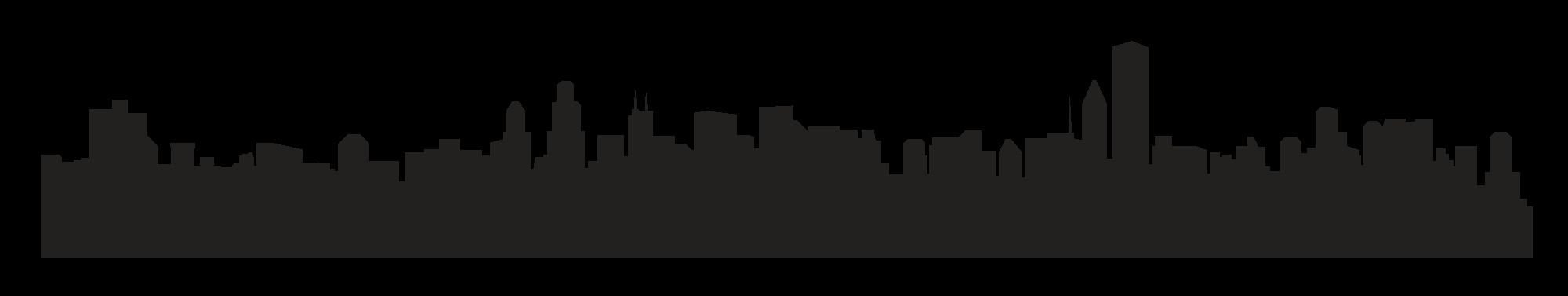 2000x377 Background Clipart City Skyline