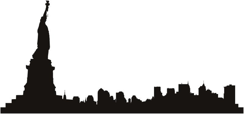 new york skyline silhouette clip art at getdrawings com free for rh getdrawings com new york skyline clipart black and white new york city skyline clipart free