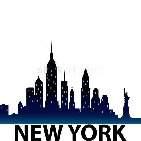 new york skyline silhouette clip art at getdrawings com free for rh getdrawings com
