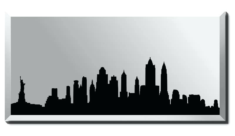 800x465 New York Skyline Silhouette And New City Skyline Silhouette Clip