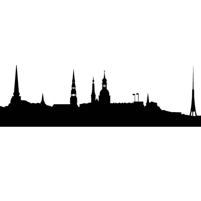 660x660 Riga City Skyline