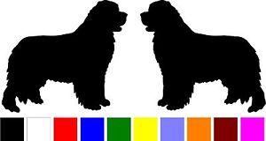 Newfoundland Dog Silhouette