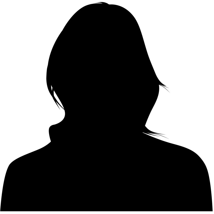 870x870 Female Silhouette
