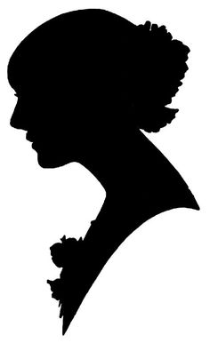 236x386 Custom Hand Cut Silhouette Portrait