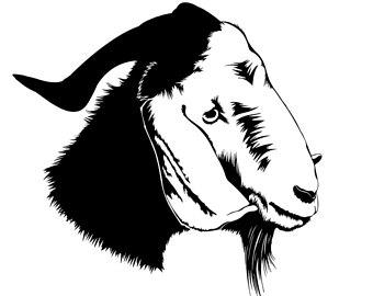 340x270 Goat Svg File Etsy