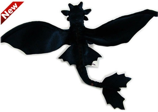 640x452 New Arrival How To Trarin Your Dragon Plush Doll Movie Black