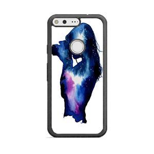 300x300 Starry Night Sky Silhouette Google Pixel Case Frostedcase