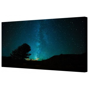 300x300 Canvart Star Filled Clear Night Sky Framed Canvas Wall Art