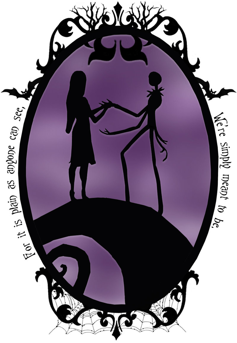 Nightmare Before Christmas Silhouette at GetDrawings.com | Free for ...