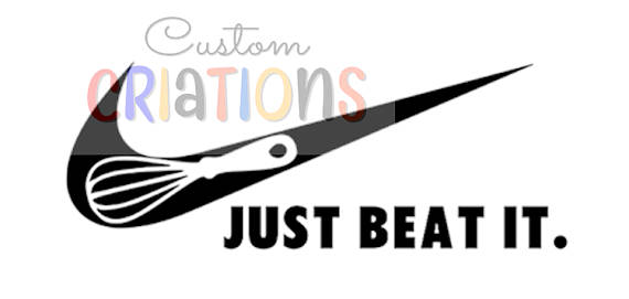 570x271 Just Beat It Svg Kitchen Beaters Nike Potholder Cricut Cameo Die
