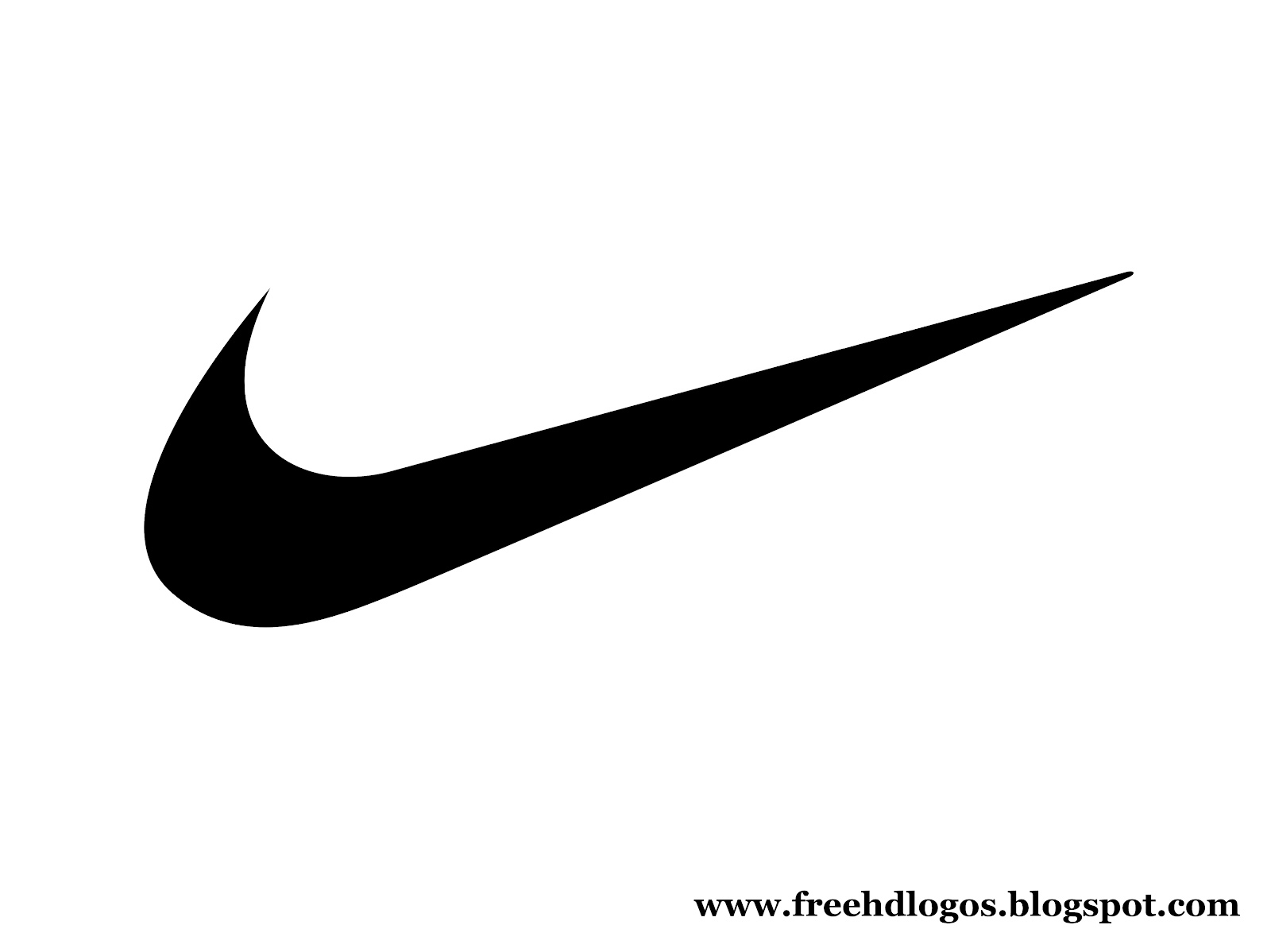 Nike Logo Silhouette At Getdrawings Free For Personal Use Nike