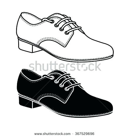 440x470 Shoe Outlines