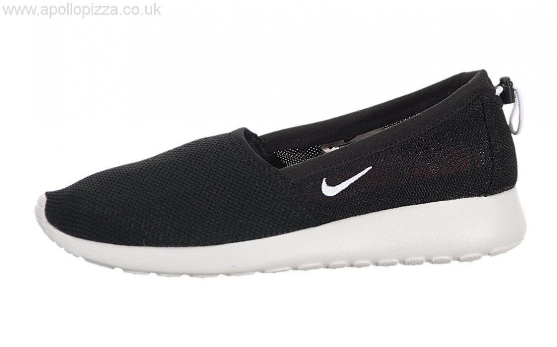 1112x693 Uk Shoes Women's Men's 2014 Nike Women's Roshe Run Slip Black