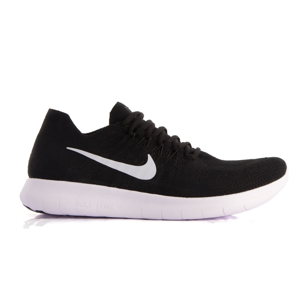 1000x1000 Men's Nike Free Rn Flyknit 2017 Black Running Shoes Intersport Uk