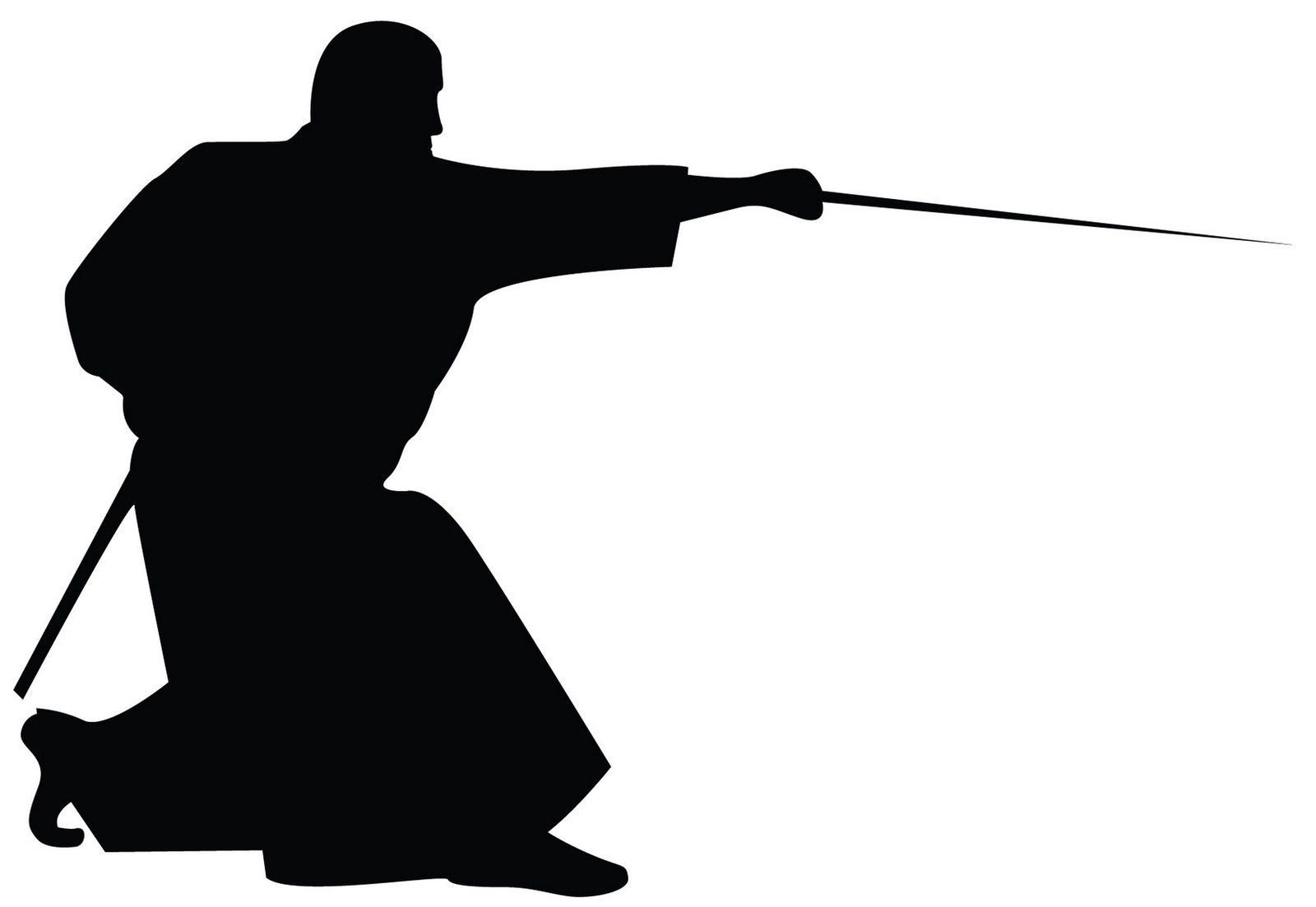1600x1103 Ninja Silhouette Clipart