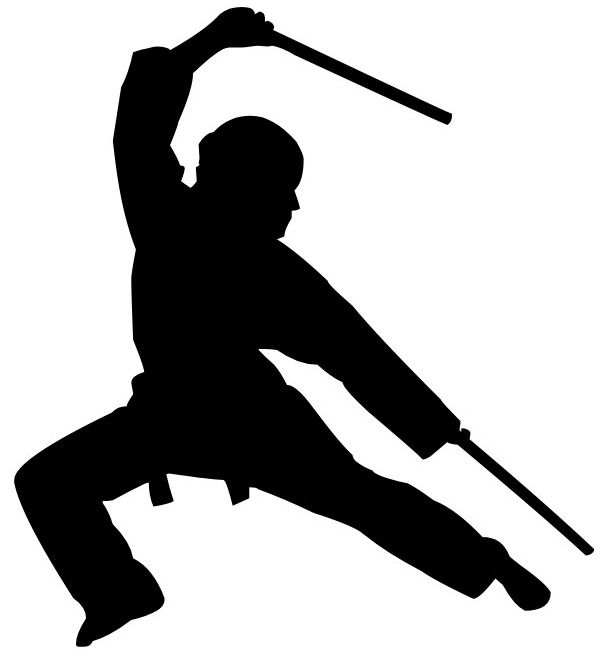 605x651 Silhouette Arnis Silhouettes And Martial