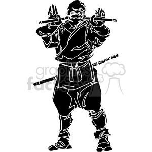300x300 Royalty Free Ninja Clipart 046 384713 Vector Clip Art Image