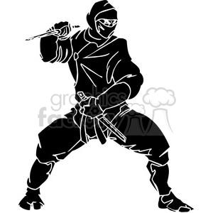 300x300 Royalty Free Ninja Clipart 047 384689 Vector Clip Art Image