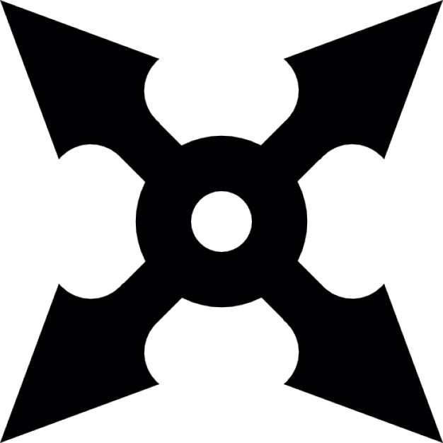 626x626 Shuriken Ninja Icons Free Download
