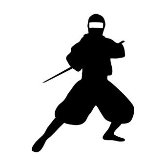 340x340 Free Silhouette Vector Item, An Illustration