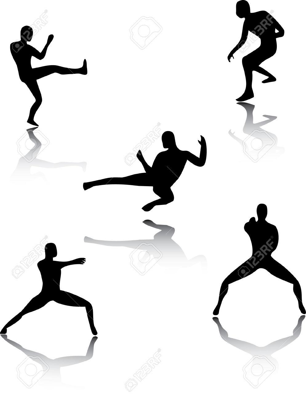995x1300 Martial Arts Clipart Ninja Kick