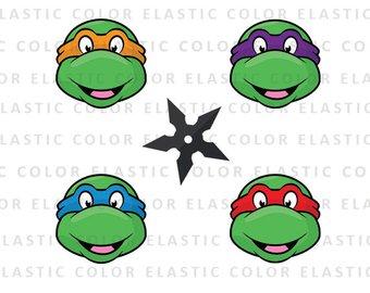340x270 Ninja Turtles Svg Etsy