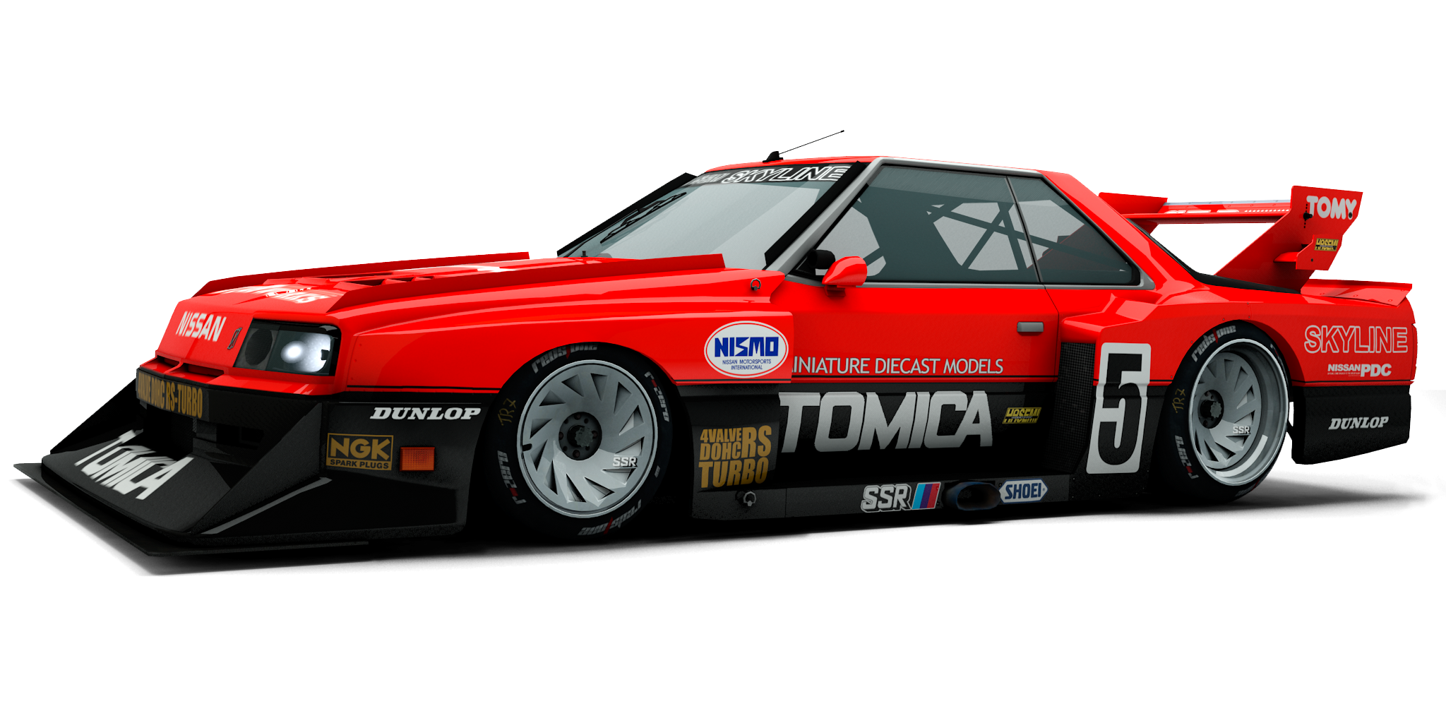 2048x1024 Nissan Silvia Turbo Joins Raceroom's Group 5 Lineup