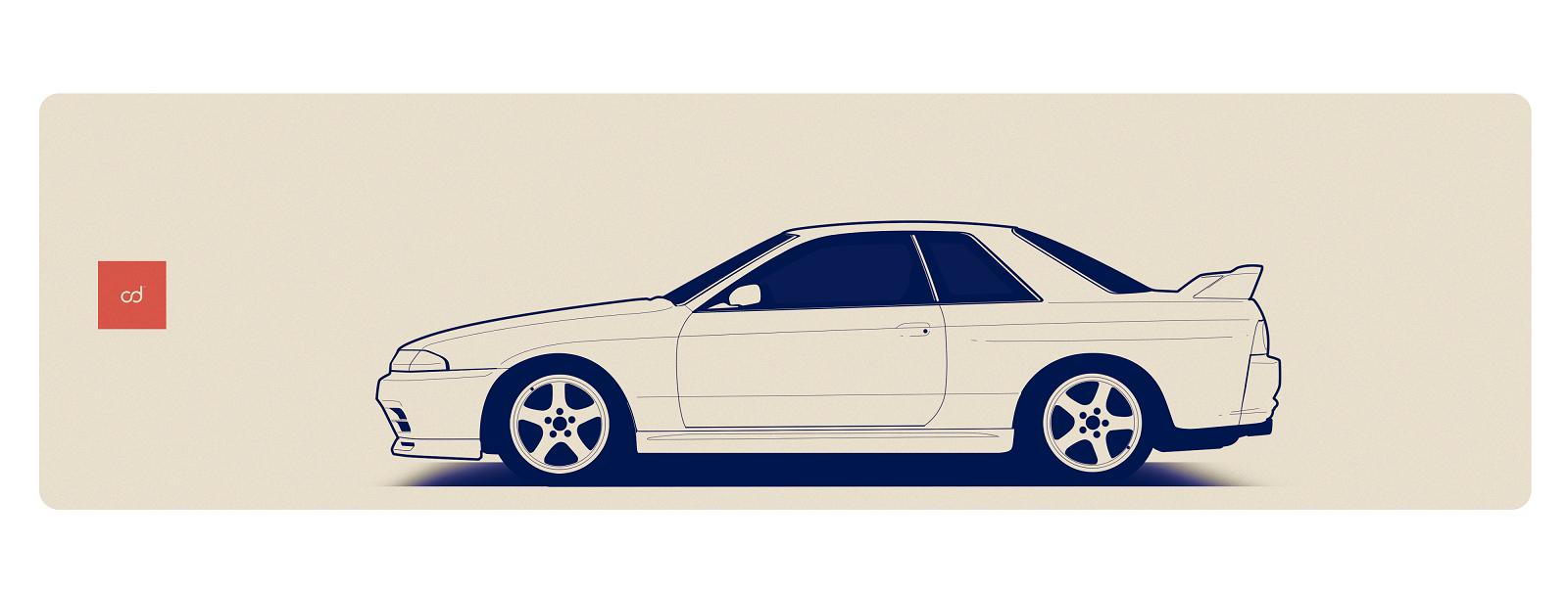 1600x604 Nissan Skyline R32 Gtr By Jacobkuiper