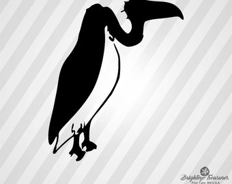 340x270 Vulture Silhouette Etsy