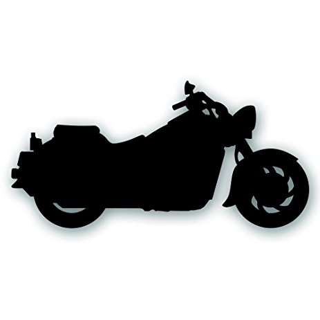 463x463 Motorcycle Decal